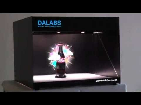 Professional 360 Degree 3d Hologram Monitor , 32 Inch Hologram Advertising Display