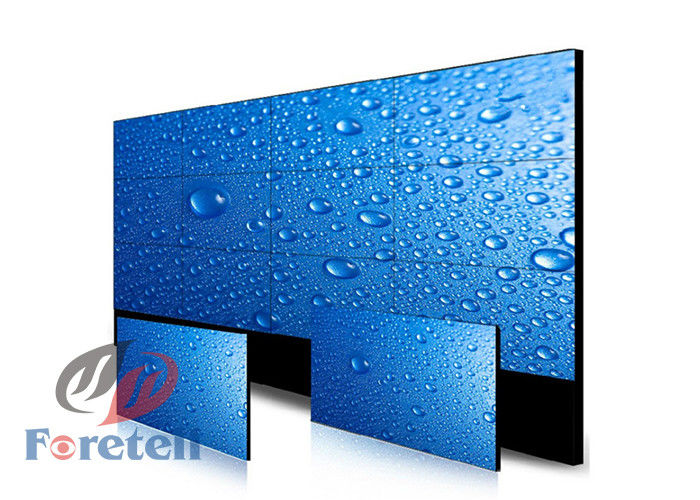 Wall Mounted LCD Video Wall Display LED Backlight Flexible Structure Design