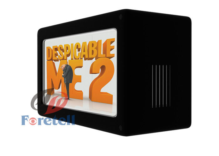 Single Version Shop Window Transparent LCD Display Box 1080P Resolution